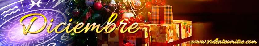 Horóscopo mensual Diciembre