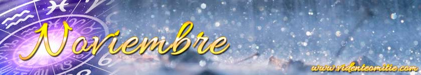 Horóscopo mensual Noviembre