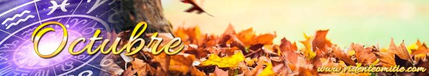 Horóscopo mensual Octubre