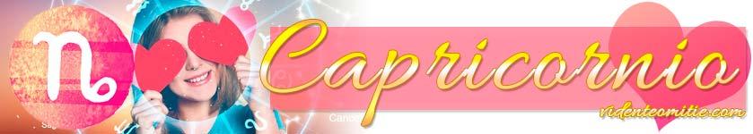Horóscopo Amor Capricornio
