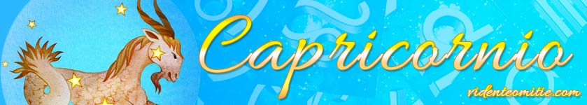 Horóscopo Diario Capricornio